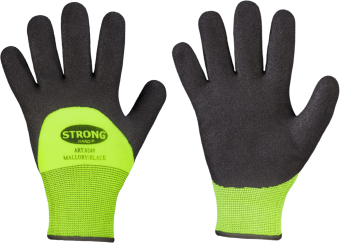 Stronghand Handschuh MALLORY/BLACK Gr. 8-11